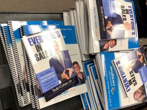 Sales Books maling out to ECG Care Partners